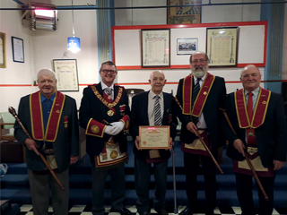 November convocation of Farmers 1000 Royal Arch Chapter