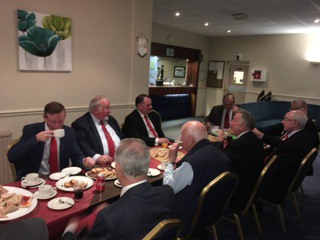 Closing supper for the Mount Royal Arch Class of Masonic Instruction, Monday 8th April 2019.