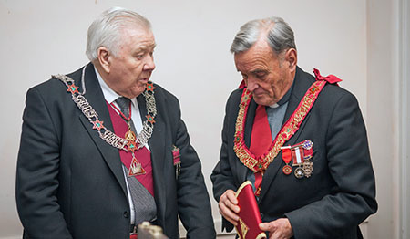 Deputy and Assistant Grand King of the Supreme Grand Royal Arch Chapter of Ireland